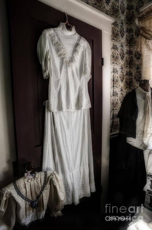Dress Art Print featuring the photograph Dress Of Anna Jarvis by Dan Friend