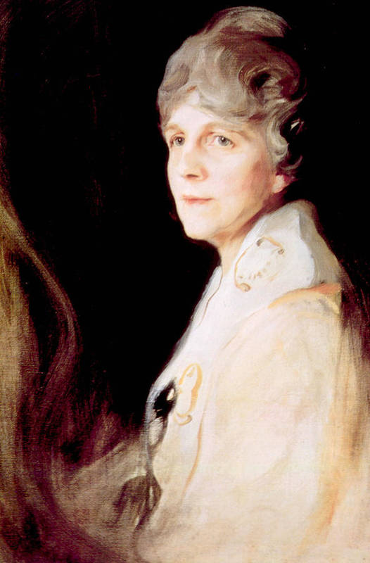 First Lady Art Print featuring the photograph Florence Harding 1860-1924, First Lady by Everett