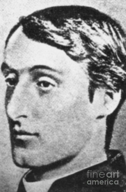 Gerard Manley Hopkins Art Print featuring the photograph Gerard Manley Hopkins by Science Source