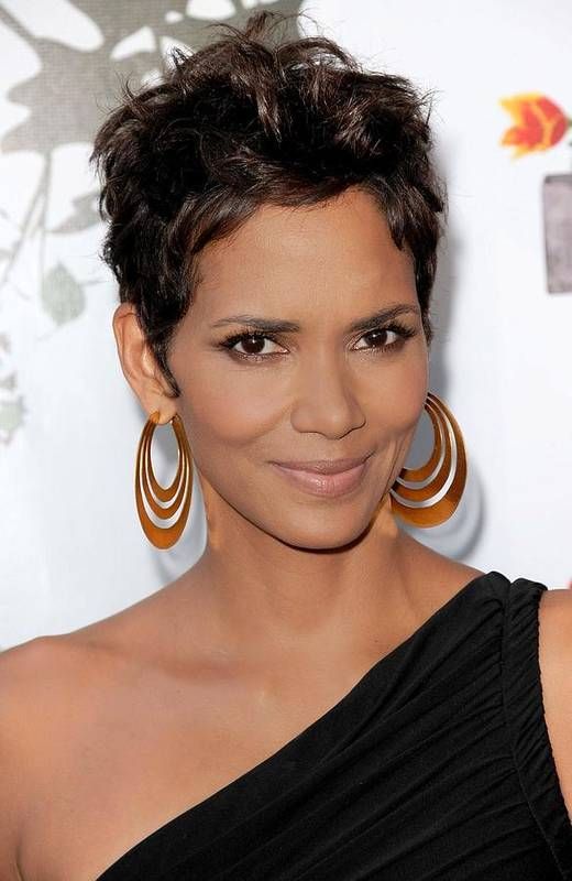 Halle Berry Art Print featuring the photograph Halle Berry At Arrivals For 2011 Annual by Everett