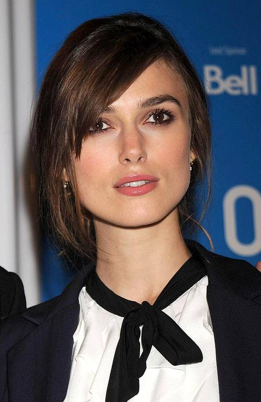 Press Conference For The Duchess Art Print featuring the photograph Keira Knightley At The Press Conference by Everett