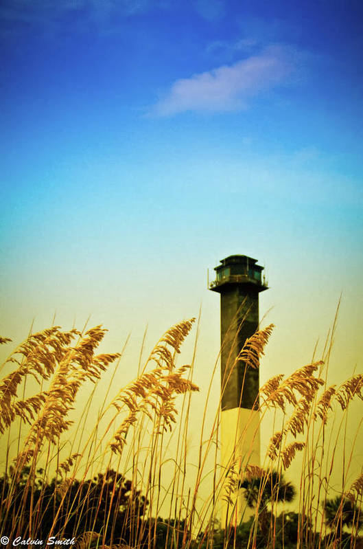 Art Print featuring the photograph Light House by Calvin Smith