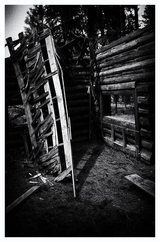 Art Photography Art Print featuring the photograph Lost To The Elements by Franklin Jeffers