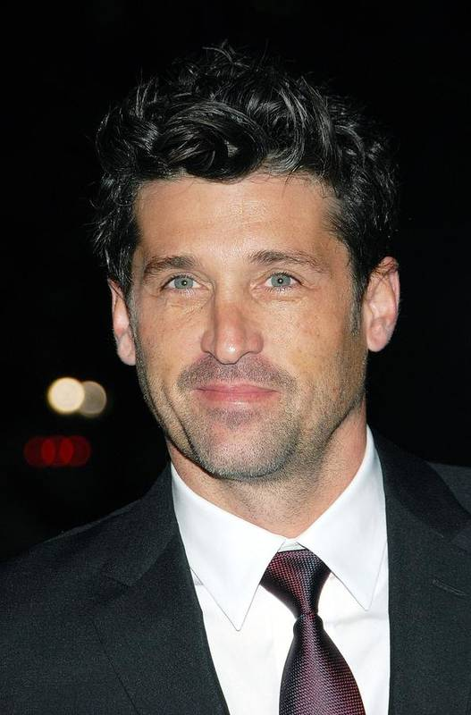 Patrick Dempsey Art Print featuring the photograph Patrick Dempsey At Arrivals For Avon by Everett