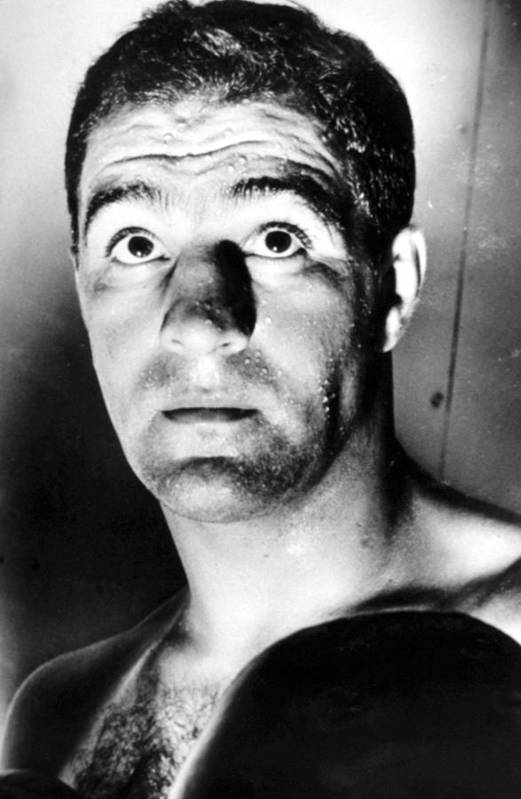 1950s Portraits Art Print featuring the photograph Rocky Marciano, 1950s by Everett