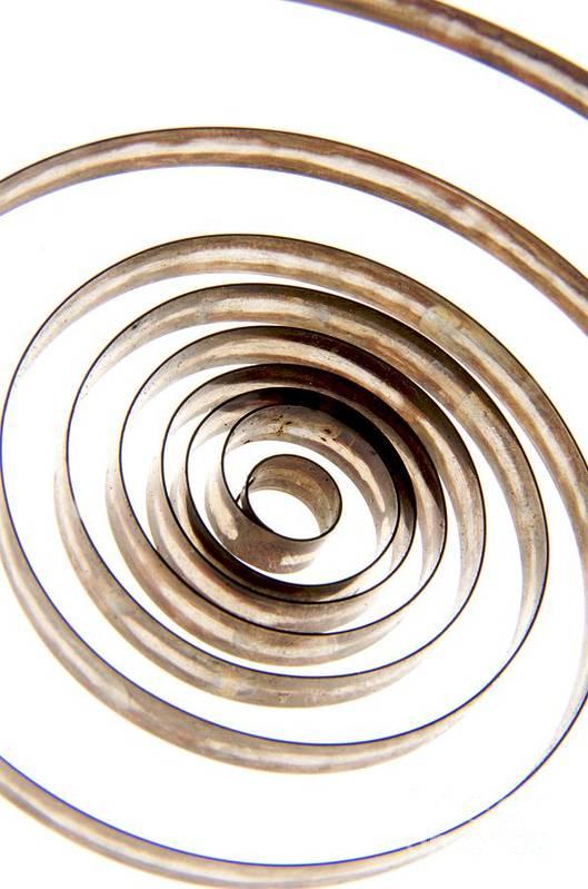Circle Art Print featuring the photograph Spiral by Bernard Jaubert
