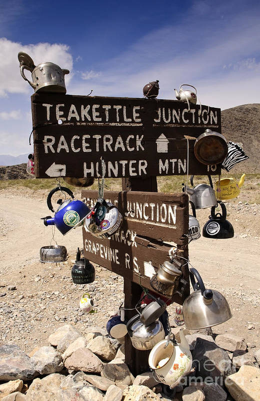 California Art Print featuring the photograph Teakettle Junction by Katja Zuske