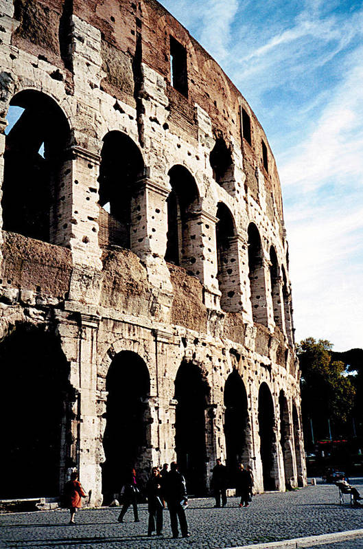 Colosseum Art Print featuring the photograph The Colosseum by Donna Proctor