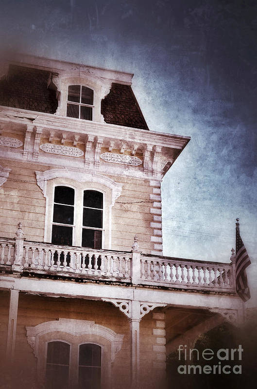 House Art Print featuring the photograph Victorian House by Jill Battaglia
