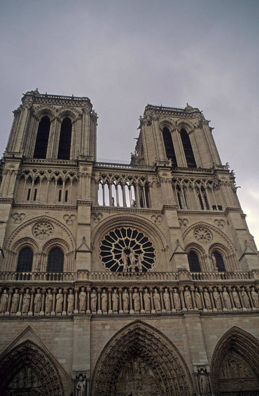 France Art Print featuring the photograph Notre Dame by Robert Torkomian