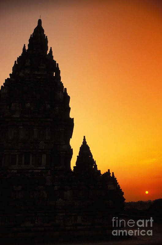 Ancient Art Print featuring the photograph Java, Prambanan by Gloria & Richard Maschmeyer - Printscapes