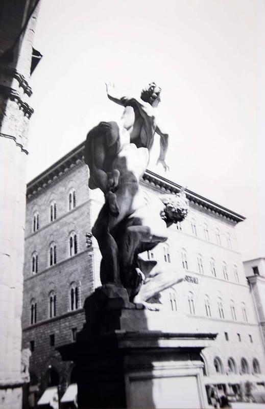 Florence Art Print featuring the photograph Palazzo Vecchio by Kurt Hausmann