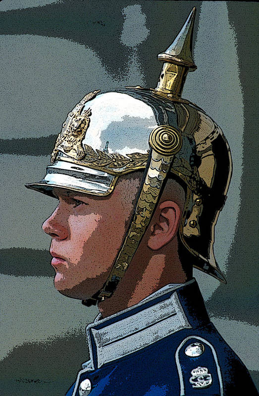 Man Art Print featuring the photograph Royal Guard by Carl Purcell