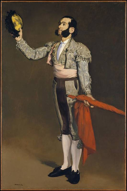 Edouard Manet Art Print featuring the painting A Matador by Edouard Manet