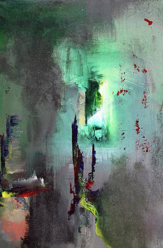 Acrylic Art Print featuring the painting A Secret Passage by Paul Harrington