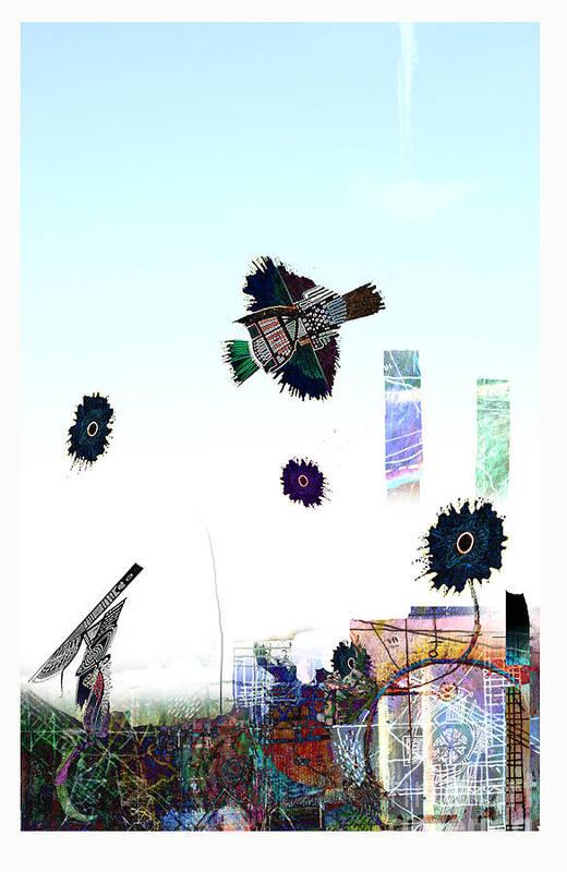 Art Art Print featuring the digital art Art Wars by Andy Mercer