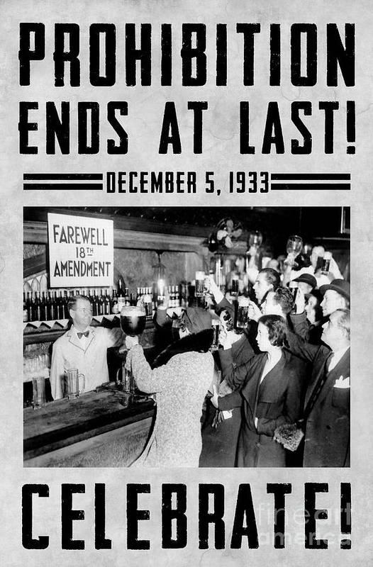 Prohibition Art Print featuring the photograph Celebrate by Jon Neidert