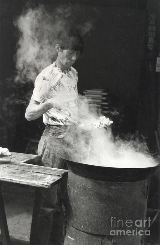China Art Print featuring the photograph Chinese Steam by Andrea Simon