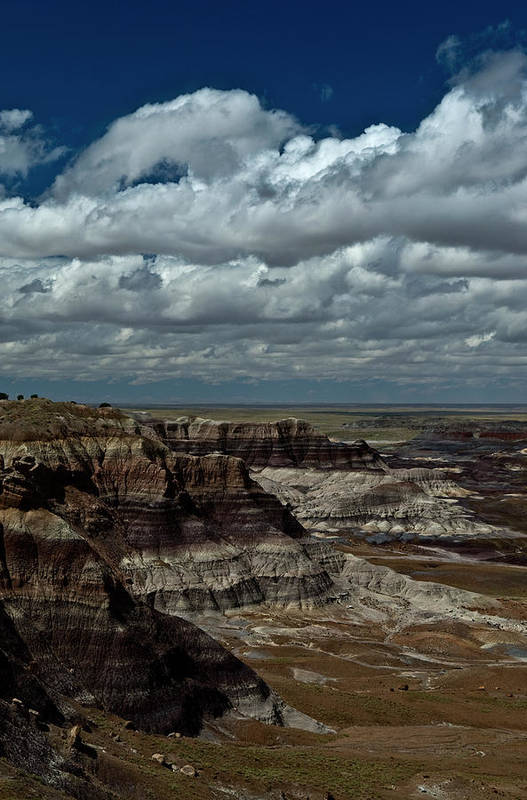 Cliffs Art Print featuring the photograph Cliffs And Clouds by Murray Bloom