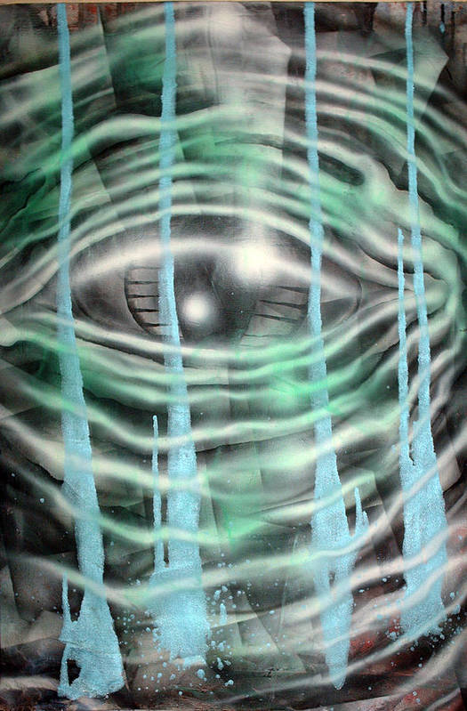 Surreal Art Print featuring the painting Eye Knew by Leigh Odom