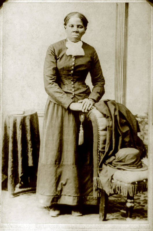 19th Century Art Print featuring the photograph Harriet Tubman, Ca. 1860-75 by Everett