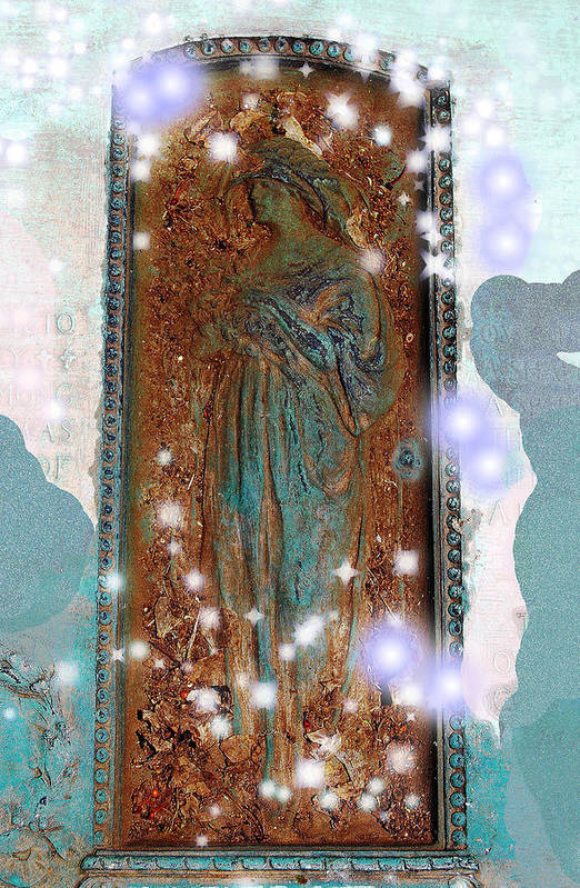 Hollywood Cemetery Art Print featuring the photograph Heaven's Doorway by Patricia Motley