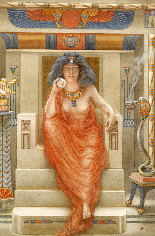 Armand Point Art Print featuring the painting Isis by Armand Point