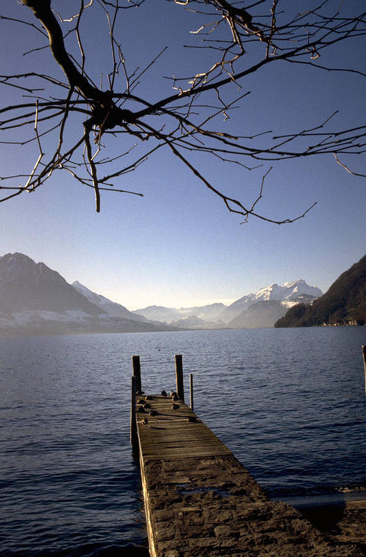 Lake Lucerne Art Print featuring the photograph Lake Lucerne by Flavia Westerwelle