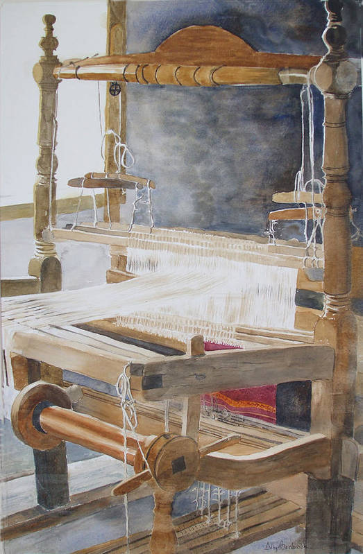 Loom Art Print featuring the painting Legacy by Ally Benbrook
