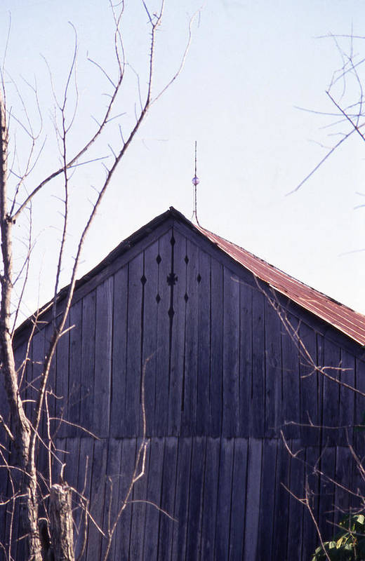Art Print featuring the photograph Lloyd Shanks Barn1 by Curtis J Neeley Jr
