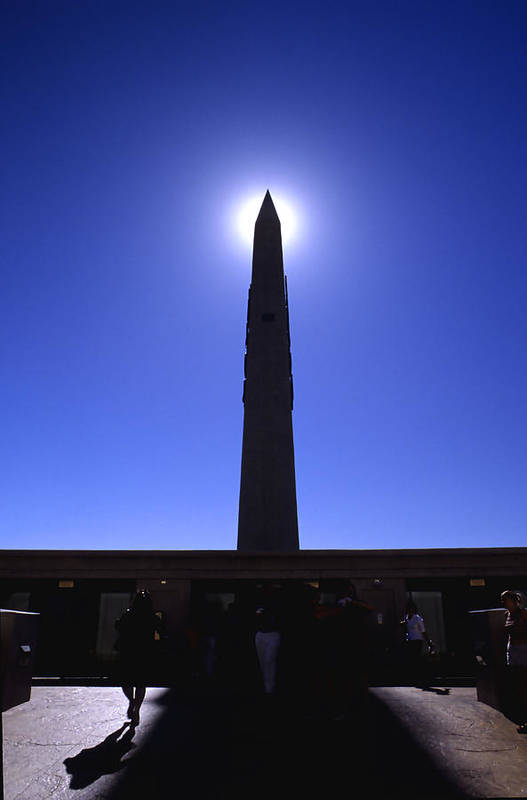 Photography Art Print featuring the photograph Luxor Obelisk by Tom Fant
