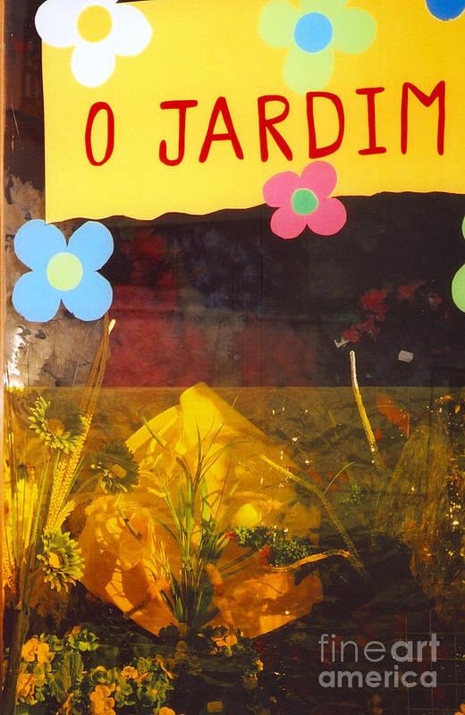 Portugal Art Print featuring the photograph O Jardim by Andrea Simon