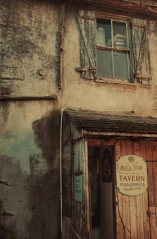 Tavern Art Print featuring the photograph Old Tavern by Dario Boriani
