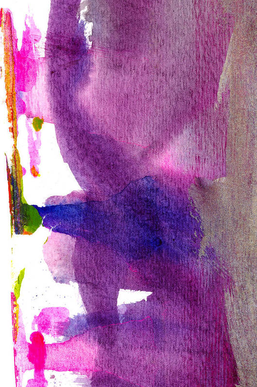 Abstract Art Print featuring the painting Pilar by Tonya Doughty
