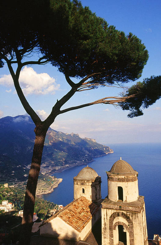 Ravello Art Print featuring the photograph Ravello Italia by Carlos Diaz