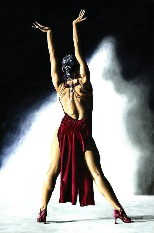Samba Art Print featuring the painting Samba Celebration by Richard Young