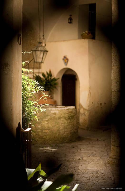 Italy Art Print featuring the photograph Sangimignano 1 by Luigi Barbano BARBANO LLC