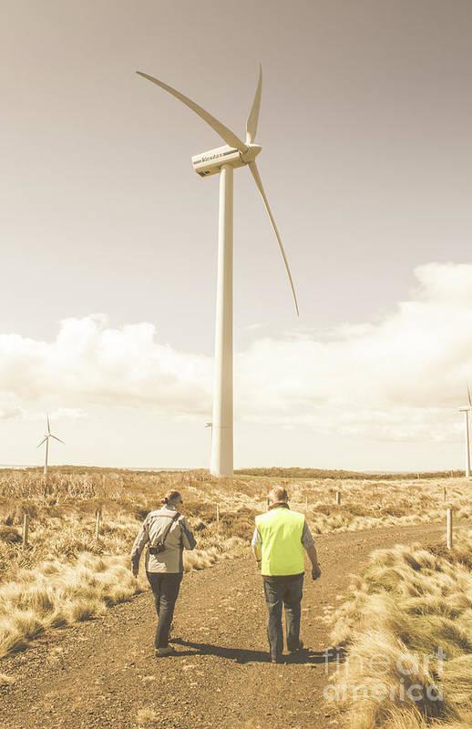 Turbine Art Print featuring the photograph Tasmania Turbine Tours by Jorgo Photography - Wall Art Gallery