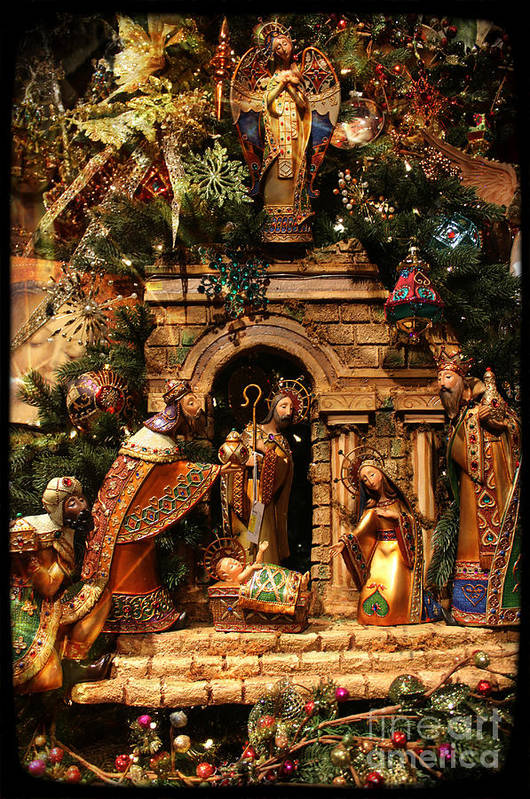 Sale Art Print featuring the photograph The Real Christmas Morning by Jenny Revitz Soper