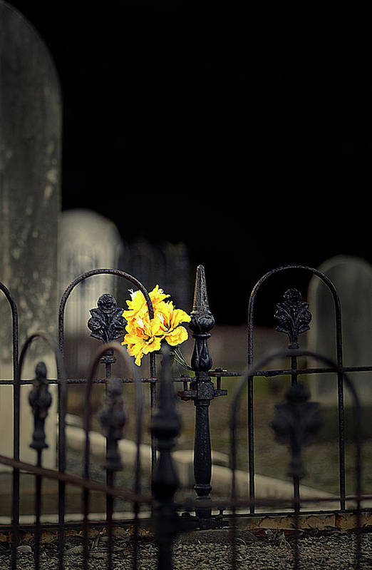 Cemetery Art Print featuring the photograph Toujours Souvenu by Marion Cullen