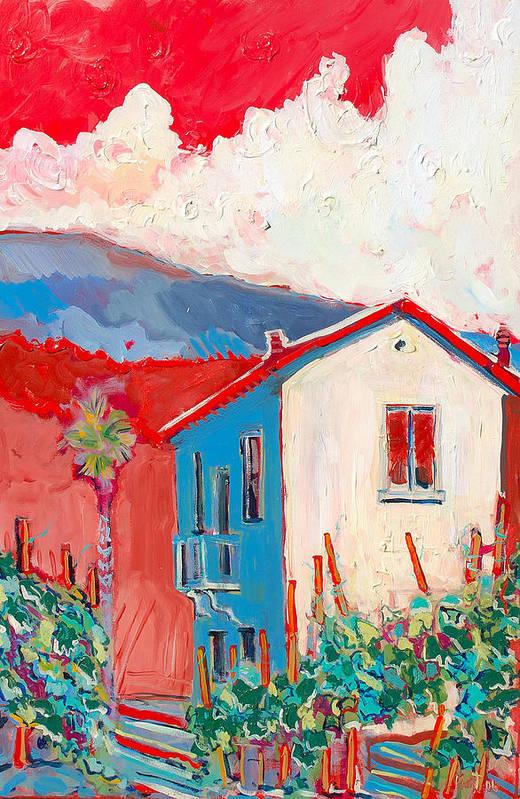 Tuscany Art Print featuring the painting Vecchio Casa by Kurt Hausmann