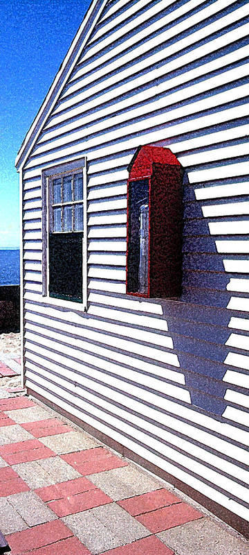Cape Cod Art Print featuring the photograph Cape House by Richard Gerken