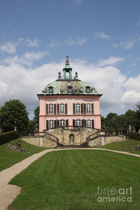 Palace Art Print featuring the photograph Fasanen Schloesschen - Germany  Pheasant Palace by Christiane Schulze Art And Photography