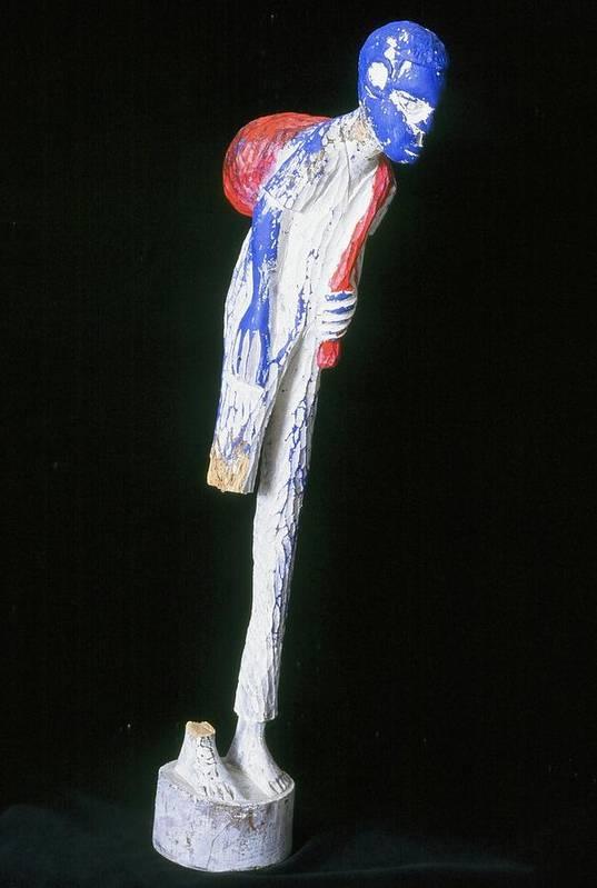 Fine Art Art Print featuring the sculpture Hardened by Iris Gill