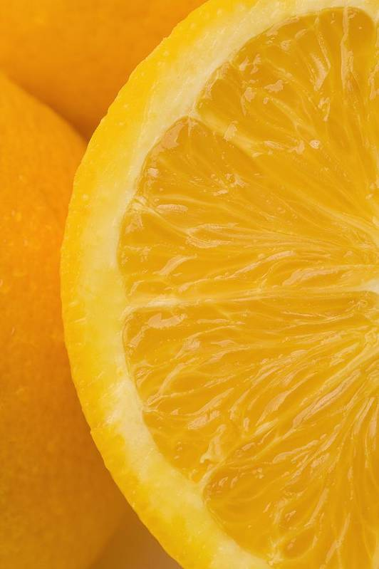Close Art Print featuring the photograph Oranges by Darren Greenwood