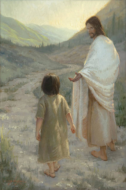 Trust In The Lord Art Print By James L Johnson