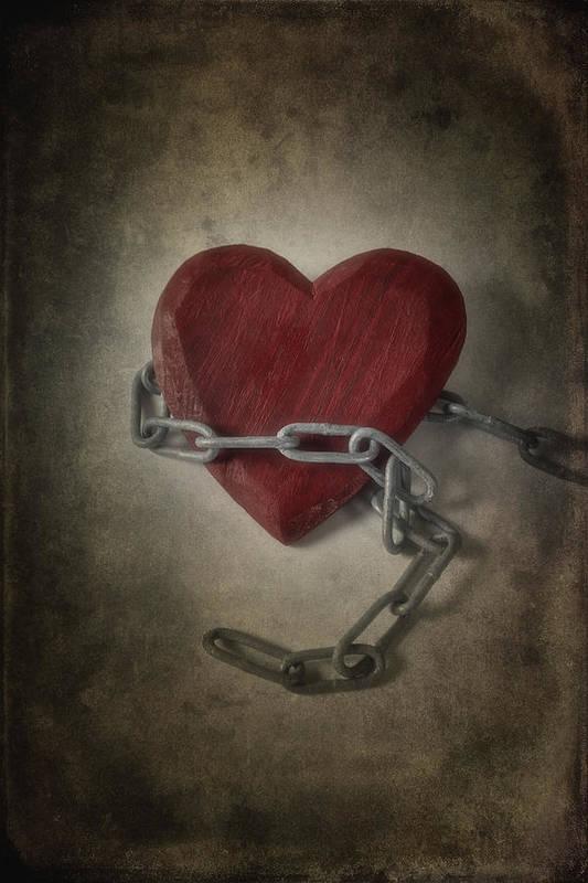 Heart Art Print featuring the photograph Unchain My Heart by Joana Kruse
