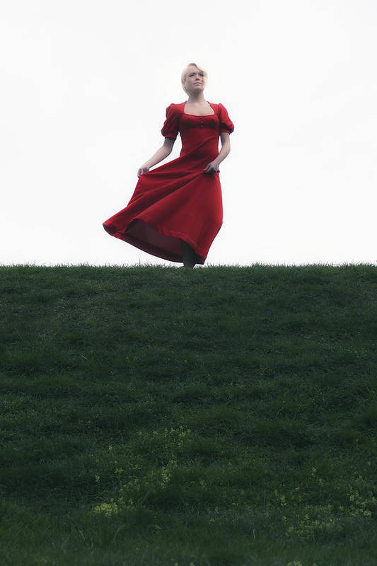 Girl Art Print featuring the photograph Dancing by Joana Kruse