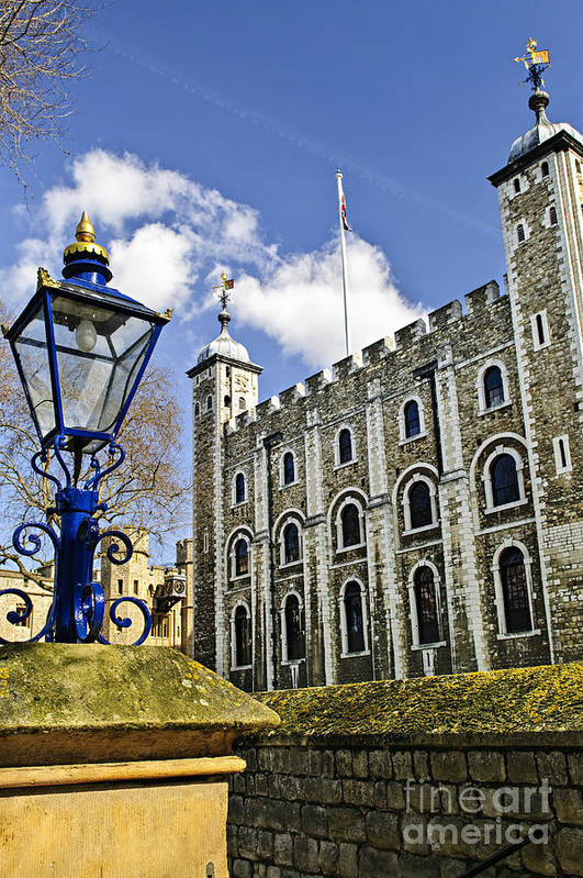 Tower Print featuring the photograph Tower Of London by Elena Elisseeva