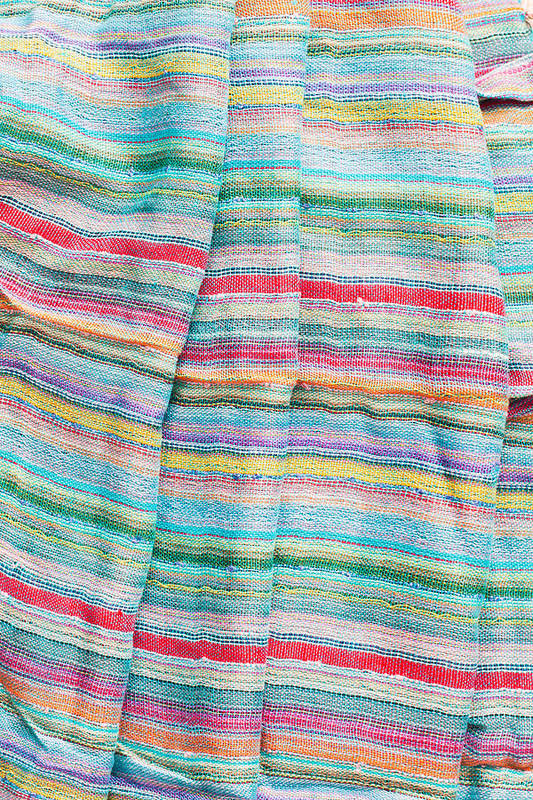 Backdrop Art Print featuring the photograph Colorful Cloth by Tom Gowanlock